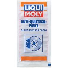 Антискрипная паста для тормозной системы LIQUI MOLY Anti-Quietsch-Paste (красная) (7656), 10g