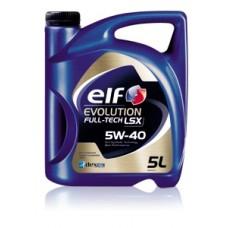 ELF Evolution FULL-TECH LSX 5W-40, 5L (Россия/Румыния)