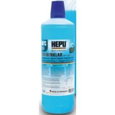 Омыватель зимний (концентрат) HEPU Scheibenfrostschutz -60°C, 1L