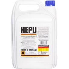 Антифриз HEPU G11 (концентрат) Синий (P999-005), 5L